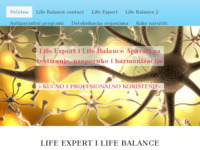 Slika naslovnice sjedišta: Life Balance - Life Expert  za testiranje i harmonizaciju (https://www.harmonizacija.putokaz.biz/)