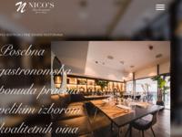 Frontpage screenshot for site: Nico's Bar | Moderan i elegantan kafić | Ban centar zagreb (https://nicosbar.hr/)