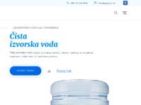 Slika naslovnice sjedišta: Prirodna i kristalno čista izvorska voda te aparati za vodu - Aquakori (https://aquakori.hr)