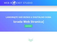 Slika naslovnice sjedišta: Web Rocket Studio | Digitalna agencija za razvoj web stranica, aplikacija i marketing (https://www.webrocketstudio.hr)