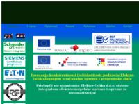 Slika naslovnice sjedišta: Elektro-čelik (http://www.elektro-celik.hr)