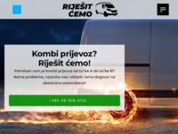 Slika naslovnice sjedišta: Kombi prijevoz - Pouzdani i efikasni - Riješit ćemo! - 095 581 2018 (https://www.rijesitcemo.com.hr/kombi-prijevoz/)