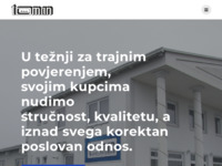 Slika naslovnice sjedišta: Toman d.o.o. (https://www.toman.hr/)