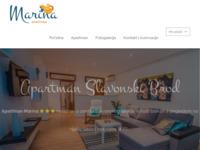 Frontpage screenshot for site: Apartman Slavonski Brod - Apartman Marina (https://apartmanmarina.hr/)