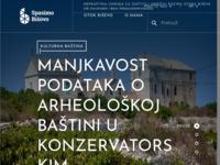 Slika naslovnice sjedišta: Spasimo Bišòvo – Udruga za zaštitu i održivi razvoj otoka Biševa. (https://bisevo.hr)