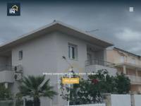 Frontpage screenshot for site: Live in nekretnine Zagreb - Stanovi, kuće, zemljišta, poslovni prostori (http://www.livein.hr)