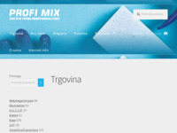 Frontpage screenshot for site: Profimix Shop – Sve što treba profesionalcima! (http://profimix.shop/)