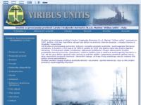 Frontpage screenshot for site: Viribus Unitis Pula (http://www.viribus-unitis.hr/)