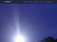 Frontpage screenshot for site: BuraSolar - Solarna LED javna rasvjeta (https://burasolar.com)