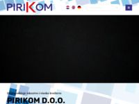 Slika naslovnice sjedišta: Pirikom d.o.o. (https://pirikom.hr/)