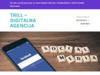 Slika naslovnice sjedišta: Trill digitalna agencija - za male poduzetnike (https://trill-agencija.com/)