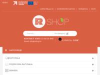 Frontpage screenshot for site: Rabljena računala i laptopi visoke kvalitete s jamstvom - RShop (http://www.rabljena-racunala.hr)