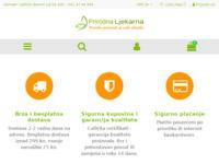 Slika naslovnice sjedišta: CaliVita proizvodi iz prirodne ljekarne (https://prirodna-ljekarna.com)