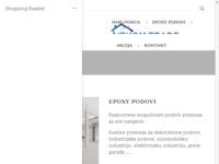 Frontpage screenshot for site: (http://vekom-trade.hr)