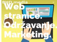 Slika naslovnice sjedišta: BHD media - Izrada i održavanje Web stranica (https://bhdmedia.hr)