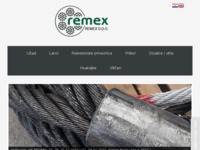 Frontpage screenshot for site: Remex d.o.o. (http://REMEX.HR)