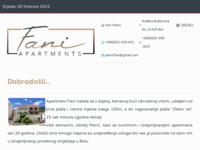 Frontpage screenshot for site: Apartmani Fani Bol (http://www.apartmanifani-bol.com)