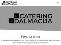 Frontpage screenshot for site: Catering Dalmacija - Gotova jela svaki dan (https://catering-dalmacija.hr/)