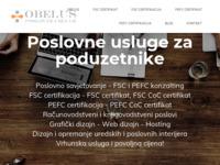 Slika naslovnice sjedišta: Obelus, obrt za poslovne usluge (http://obelus.hr)