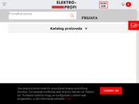 Slika naslovnice sjedišta: Elektroprofi web trgovina (https://www.elektroprofi.hr/)