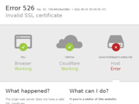 Frontpage screenshot for site: The villa & apartment rental expert for your vacation - ⛱️ Holiday In Croatia (https://www.holidayincroatia.net)
