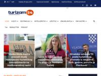 Frontpage screenshot for site: Turizam24.com - Turistički News Portal (http://www.turizam24.com)