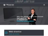 Slika naslovnice sjedišta: Iteh Sistemi - Izrada web stranica (https://iteh-sistemi.hr/)