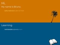 Frontpage screenshot for site: Bruno Bilandžić (https://brunobilandzic.from.hr/)