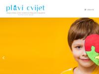 Slika naslovnice sjedišta: Udruga Plavi cvijet – Udruga roditelja i osoba s poteškoćama šireg autističnog spektra (http://www.plavicvijet.hr)