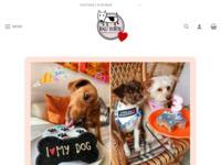 Frontpage screenshot for site: Vau torte - Torte za pse - Prirodne i ručno rađene slastice (https://www.vau-torte.com)
