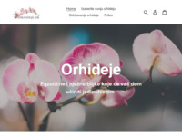 Frontpage screenshot for site: Orhideje.hr - webshop za kupovinu egzotičnih orhideja (https://orhideje.hr)