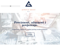 Frontpage screenshot for site: Actovis Group (https://actovisgroup.hr)