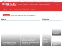 Slika naslovnice sjedišta: Ogulin.eu portal za novosti iz Ogulina (https://ogulin.eu)