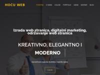 Slika naslovnice sjedišta: HocuWeb.com - Web dizajn, web hosting, web development (https://hocuweb.com)