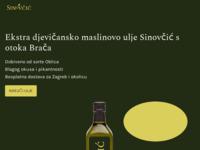 Slika naslovnice sjedišta: Maslinovo ulje | OPG Sinovčić | Otok Brač (https://www.opgsinovcic.hr/)