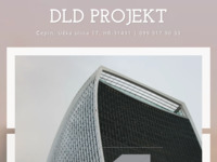 Frontpage screenshot for site: DLD Projekt - Projektantski ured, inženjerstvo i s njim povezano tehničko savjetovanje (https://dldprojekt.hr)