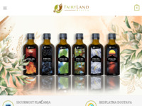 Frontpage screenshot for site: Riznica zdravlja iz prirode - Fairyland health (https://www.fairylandhealth.com)