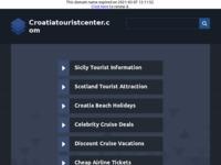 Frontpage screenshot for site: Turističke informacije o Hrvatskoj (http://www.croatiatouristcenter.com)