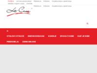 Slika naslovnice sjedišta: LaCasa - Proizvodnja i prodaja namještaja (https://lacasa.hr/)