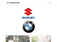 Slika naslovnice sjedišta: AC Baumgartner - Suzuki vozila (http://baumgartner.hr)