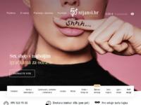Frontpage screenshot for site: 50nijansi.hr - Sex shop s najboljim igračkama i brzom dostavom (https://www.50nijansi.hr)