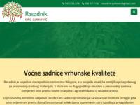 Slika naslovnice sjedišta: Rasadnik OPG Jurković | Voćne sadnice vrhunske kvalitete (http://rasadnik-opg-jurkovic.hr/)