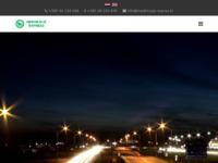 Slika naslovnice sjedišta: Međimurje expres transporti (http://www.medimurje-expres.hr)