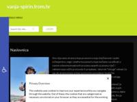 Frontpage screenshot for site: vanja-spirin.from.hr - stranica autora prvog hrvatskog fantasy romana (http://www.vanja-spirin.from.hr)