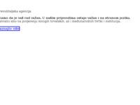Frontpage screenshot for site: Prevoditeljska agencija Integra - Pisani, usmeni i ovjereni prijevodi (https://www.integra.hr)