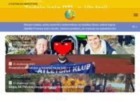 Slika naslovnice sjedišta: Atletski klub Plitvice (http://www.akplitvice.hr)