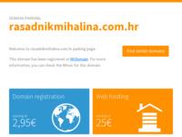 Slika naslovnice sjedišta: Rasadnik Mihalina | Uzgoj sadnog materijala i uređivanje okoliša (http://www.rasadnikmihalina.com.hr)