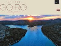 Frontpage screenshot for site: Taverna GORO - Telašćica - Dugi otok (https://www.tavernagoro.com/)