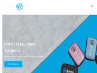 Frontpage screenshot for site: FreeStyle Libre Torbica (https://fsltorbice.xyz/)