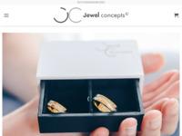 Frontpage screenshot for site: Vrhunski personalizirani nakit s otiskom - Jewel Concepts (https://www.jewel-concepts.hr)